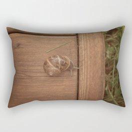 Snail Garden Rectangular Pillow