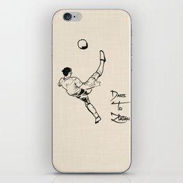 Dare To Zlatan 2 iPhone Skin