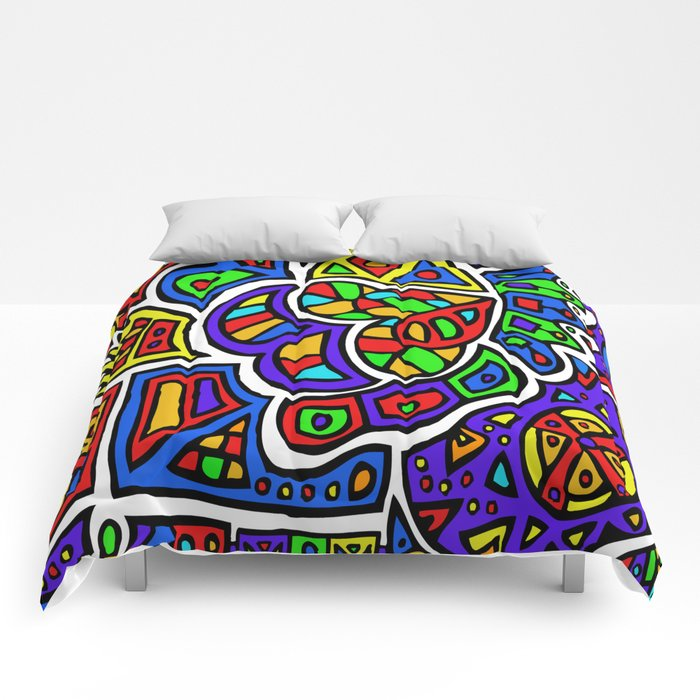 Abstract #426 Comforters