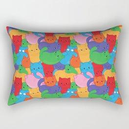 Jelly Cat Beans Rectangular Pillow