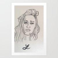 Lira Art Print