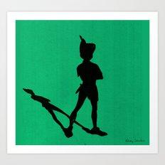 HE CAN FLY! (Peter Pan) Art Print