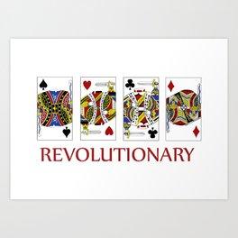 Revolutionary Art Print