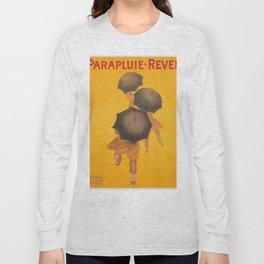Vintage poster - Parapluie-Revel Long Sleeve T-shirt