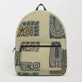 Art Nouveau Patterns Backpack