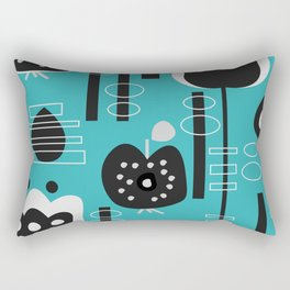 Fruity mid-century decor Rectangular Pillow