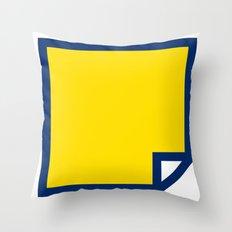 Lichtenswatch - Blonde Throw Pillow