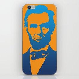 Abraham Lincoln Pop Art iPhone Skin