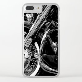 Yamaha ROAD STAR Motorcycle Clear iPhone Case