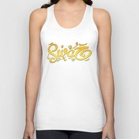 swag Tank Tops featuring SWAG by Mikhaa