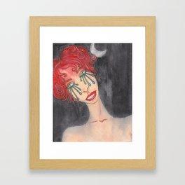 moon child Framed Art Print