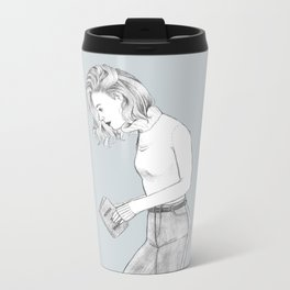Noora Amalie Sætre Metal Travel Mug
