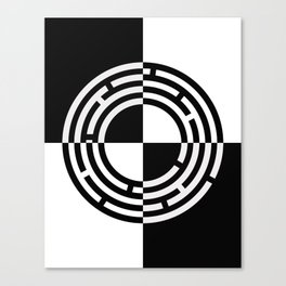 The Maze - Alternate Canvas Print