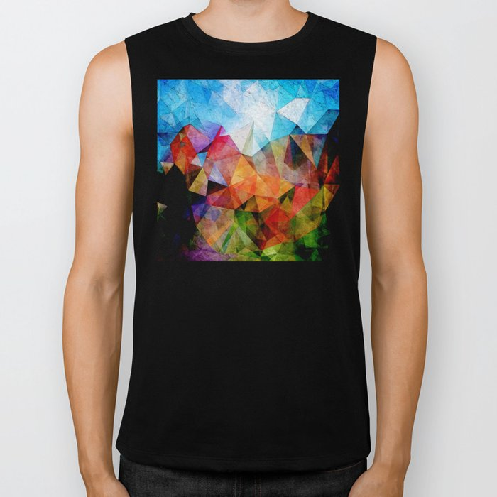 Daydreaming Under Blue Skies Biker Tank