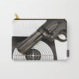 Air gun pistol revolver and a target Carry-All Pouch