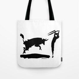 Pablo Picasso Bullfight III 1960 Artwork Shirt, Reproduction Tote Bag