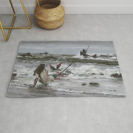 The last mermaid of the northern seas Rug