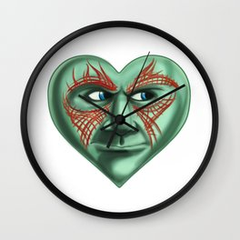 Drax Heart Guardians of the Galaxy  Wall Clock