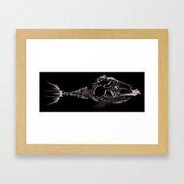 Glass Fishy  Framed Art Print