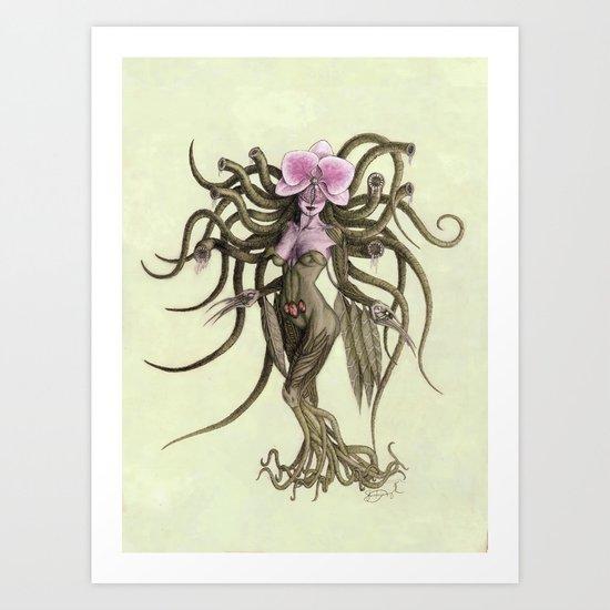 Man Eater Art Print