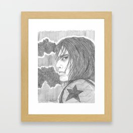 Most of the Intelligence Community Doesn't Believe He Exists Framed Art Print