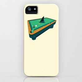Pool shark iPhone Case