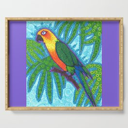 Ronnell's Parrot Serving Tray