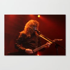 Megadeth Live at the State  Canvas Print