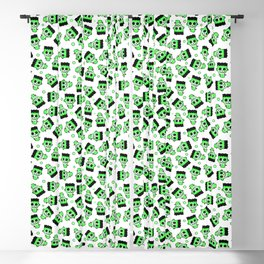 MONSTER TRANSILVANIA CARTOON PRINT Blackout Curtain