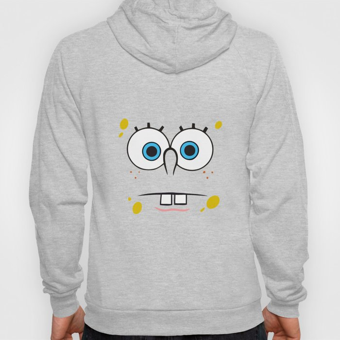 Spongebob Surprised Face Hoody