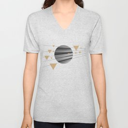 Abstract Composition 04 Unisex V-Neck