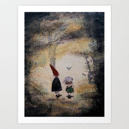 Into the Unknown - Over the Garden Wall Kunstdrucke