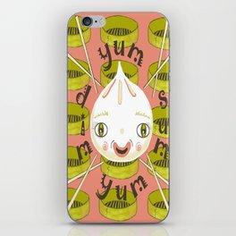 Dim Sum Yum Yum iPhone Skin