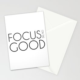 Focus on The Good Stationery Cards