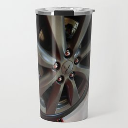 Mitsubishi Lancer Sportback Ralliart Wheel Travel Mug
