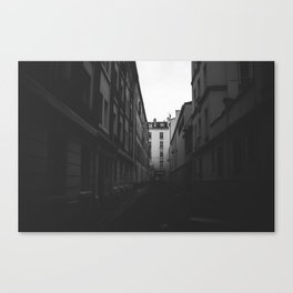 Alleys of Paris Canvas Print