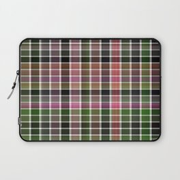 Pink Roses in Anzures 3 Plaid 2 Laptop Sleeve