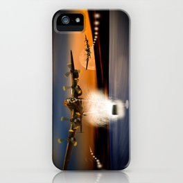 Coming In iPhone Case