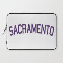 Sacramento Sports College Font Laptop Sleeve