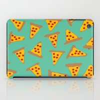 pizza iPad Cases featuring pizza by AshlynDrake