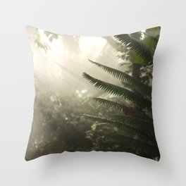 Plants of the Fort Worth Botanical Garden Throw Pillow