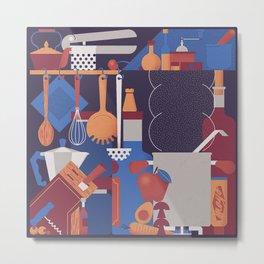 The Kitchen Metal Print