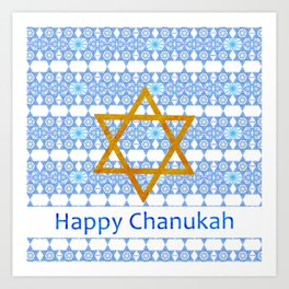 Happy Chanukah! Art Print