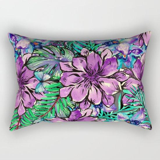 My Tropical Garden 4 Rectangular Pillow