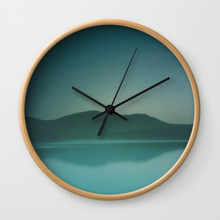 Lakeside Drive Wall Clock