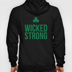 Wicked Strong Green Hoody