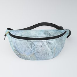 Blue Green Abstact Fanny Pack
