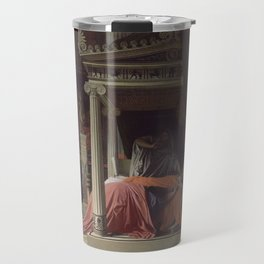 Jean-Auguste-Dominique Ingres - The Illness of Antiochus Travel Mug