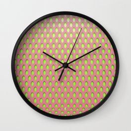 Elongated Holes1 Lusty Gallant Wall Clock