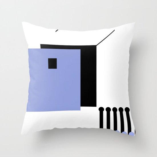 haus 2 Throw Pillow